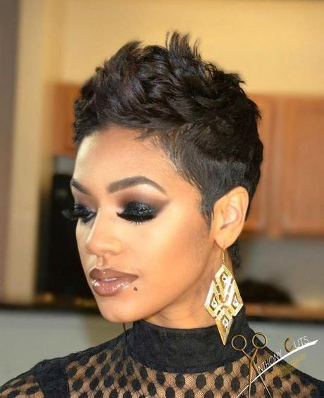 Haircuts for black women short length hair