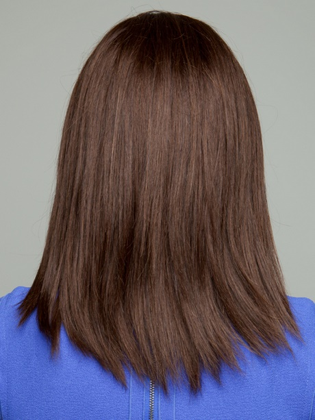 Medium Length Hair Back View