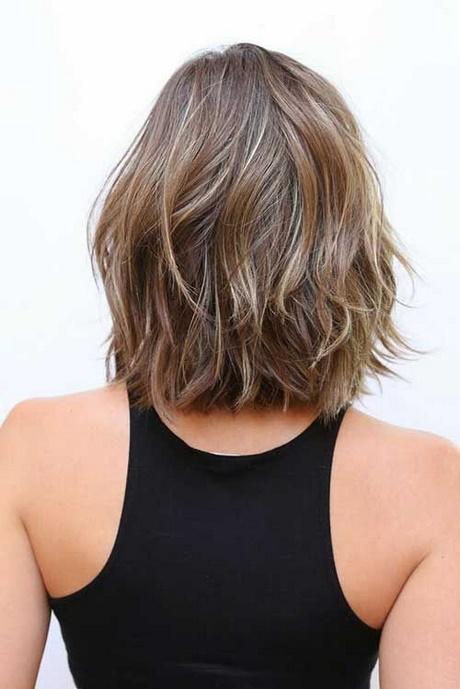 Medium Length Hair Back View