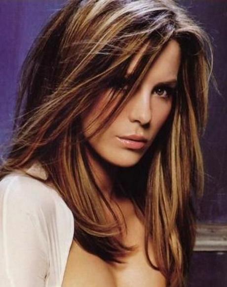 114 best Hair – Dark Brown based ombres images on Pinterest … medium length hair