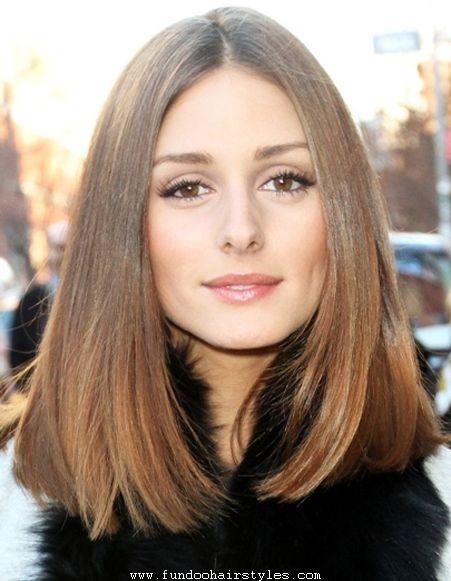 Medium Length Haircuts No Bangs