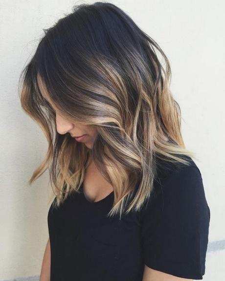 Mid Length Hair Color