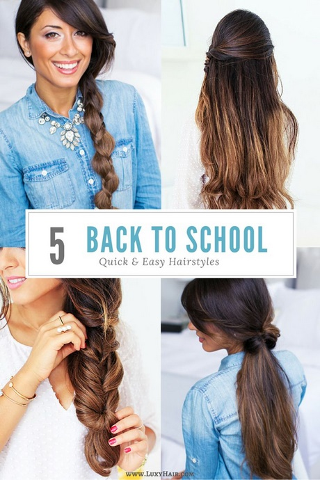 Quick And Easy Hairstyles For Long Thick Hair