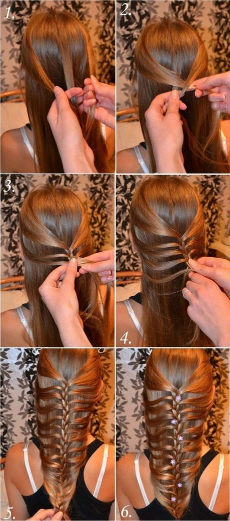 stylish braids for long hair