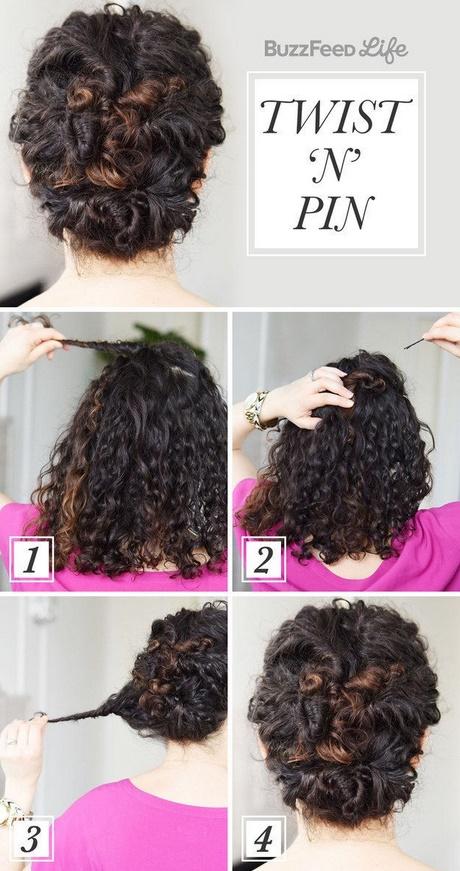 Как можно в домашних условиях уложить кудрявый волос