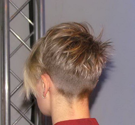 Back View Of A Pixie Haircut