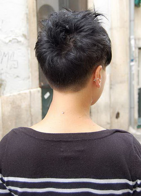 20 back view of pixie haircuts pixie cut 2015 red curly pixie haircut ...