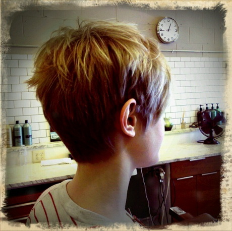Back View Of Short Pixie Haircuts