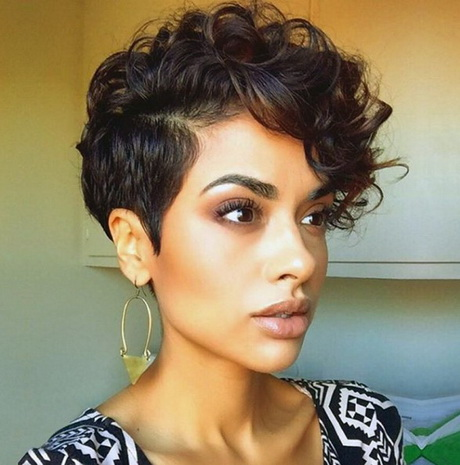 Curly Hair Pixie Hairstyles