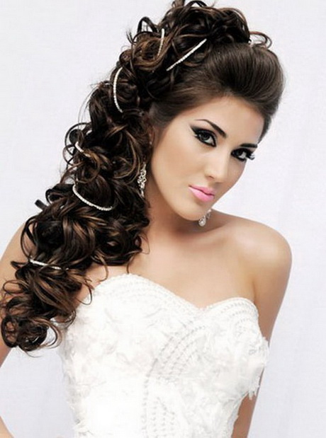 Different Hairstyles For Wedding Try Different Long Hairstyles In