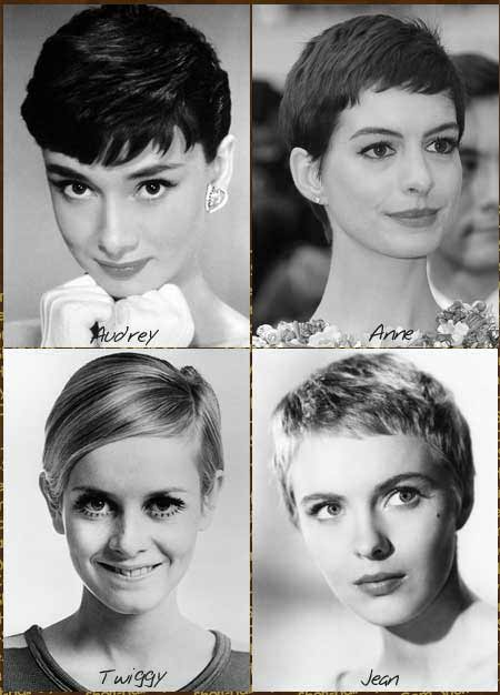 different types of pixie haircuts