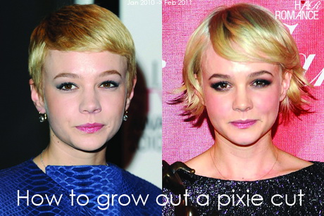 growing out pixie cut stages