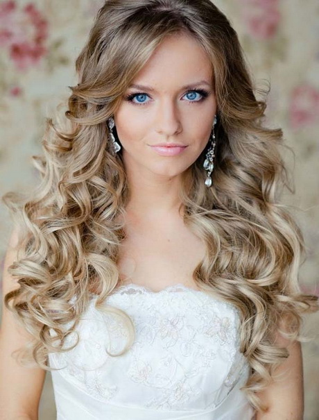 hairstyles for long hair wedding party. Black Bedroom Furniture Sets. Home Design Ideas