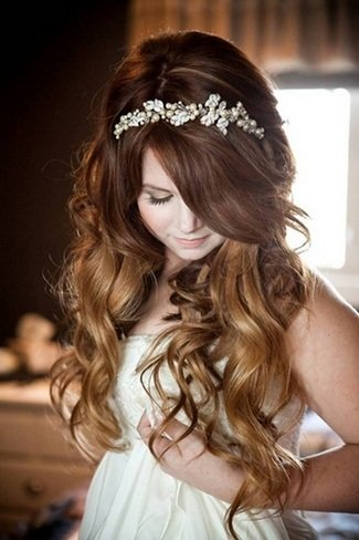 Hairstyles For Wedding Day Long Hair
