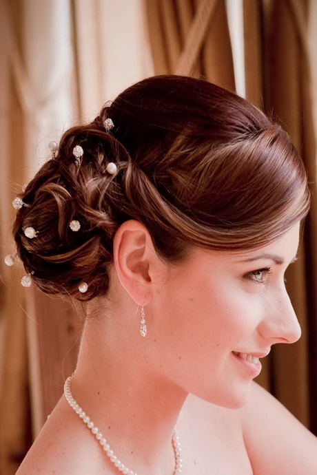 Latest hairstyles for brides - photo #24