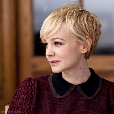 Carey Mulligan Straight Hair Pixie Cut