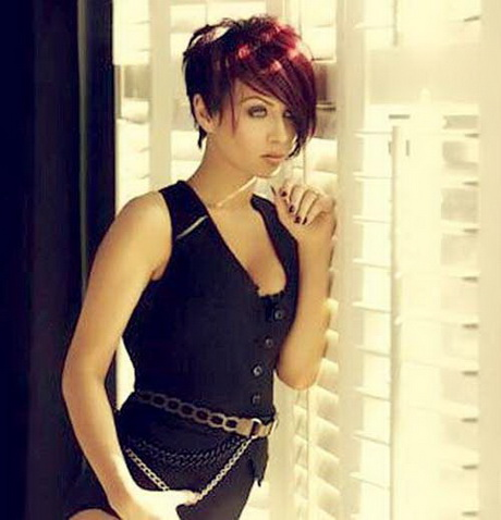 Pixie Cut Long On Top