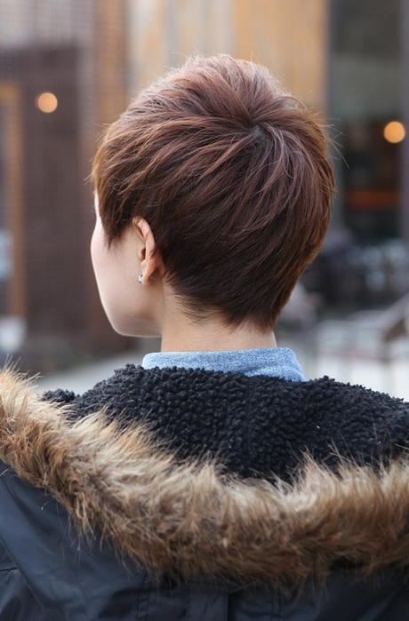 Pixie Hair Back View
