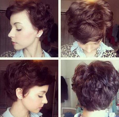 Pixie Haircut Wavy Hair