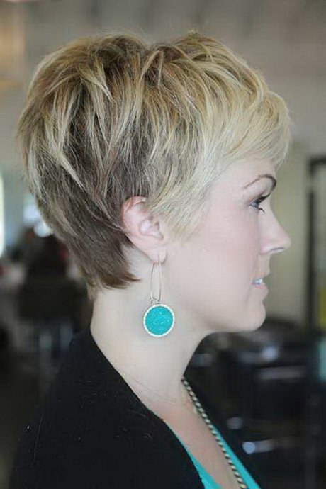 Pixie haircut with long back