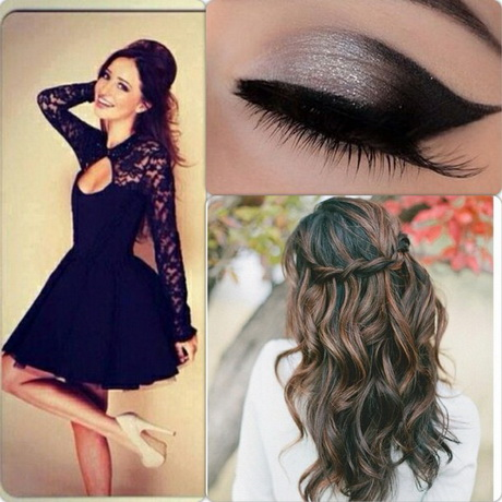 prom hair makeup