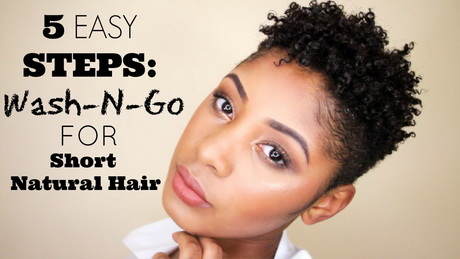 Wash And Go Pixie Cuts