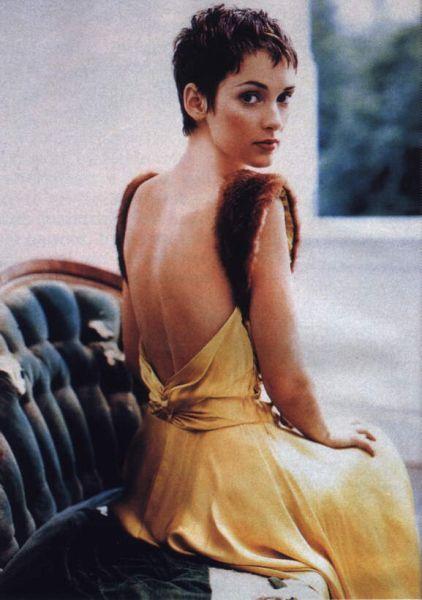Winona Ryder Pixie Cut