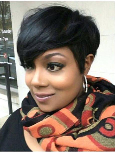 Cute Short African American Hairstyles
