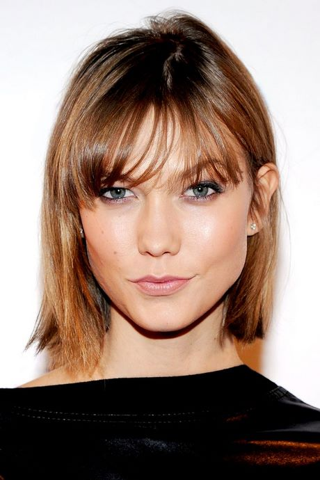 Hairstyles For Thin Hair With Bangs