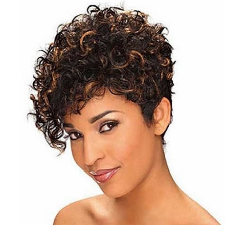 Womens Short Curly Hairstyles 2018