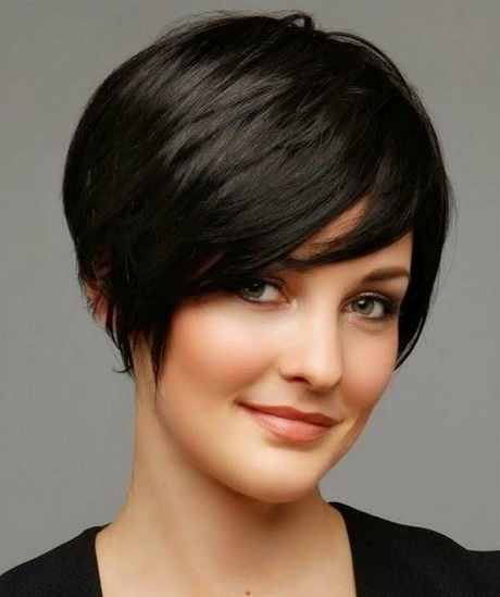 2018 Short Hairstyles For Round Faces