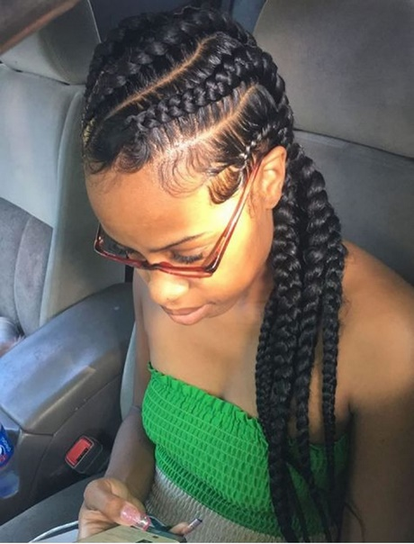 Black Braids Hairstyles 2018