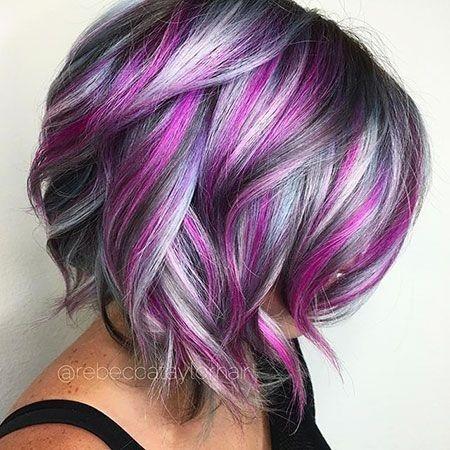 Hair Colours For Short Hair 2018
