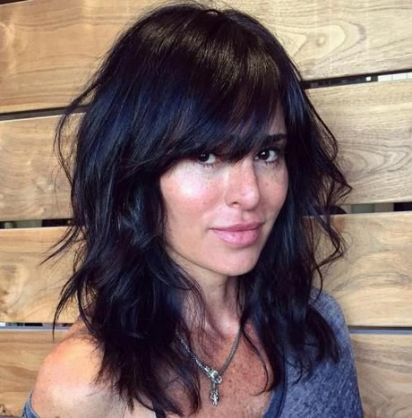 111 Best Layered Haircuts For All Hair Types 2018 Beautified. Prev Next Medium Length Haircuts Layers Side Bangs