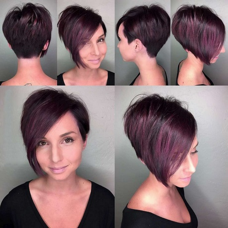 New Short Hairstyle 2018