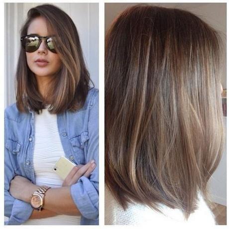 Shoulder Length Haircut 2018