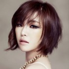 Asian short hairstyle