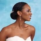 Black hairstyles for a wedding