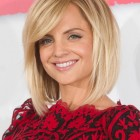 Blonde medium length haircuts