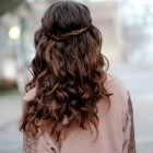 Braided curly hairstyles