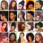 Braiding hairstyles for black women
