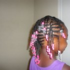 Braids and beads hairstyles
