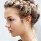 Braids updo hairstyles