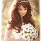 Bridal hair pictures