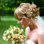 Bridal hairstyles for short hair images