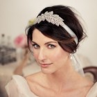 Bridal headband hairstyles