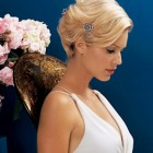 Bride hairstyles for short hair