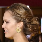 Bridesmaid hairstyle
