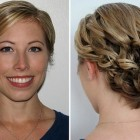 Bridesmaids hairstyles for short hair