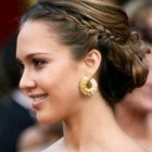 Bun hairstyles for prom
